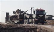 Mỹ - Thổ Nhĩ Kỳ tuần tra chung trên bộ tại 'vùng an toàn'ở Syria