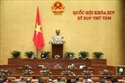 Kỳ họp thứ 8, Quốc hội khóa XIV: Thông cáo báo chí số 10