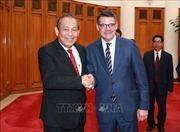 Phó Thủ tướng Thường trực Chính phủ Trương Hòa Bình tiếp Chủ tịch Nghị viện bang Hessen, CHLB Đức