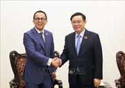 Phó Thủ tướng Vương Đình Huệ đề nghị FWD tài trợ cho các dự án khởi nghiệp, đổi mới sáng tạo