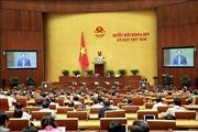 Tuần làm việc thứ năm: Quốc hội tập trung cho công tác xây dựng pháp luật