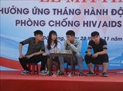 Đà Nẵng mít tinh hưởng ứng Tháng hànhđộng phòng chống HIV/AIDS