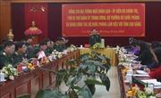 Đoàn công tác Bộ Quốc phòng làm việc với tỉnh Cao Bằng