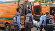 Hai tai nạn giao thông nghiêm trọng làm 28 người chết tại Ai Cập