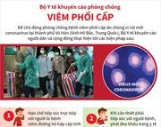 Bộ Y tế khuyến cáo phòng chống viêm phổi cấp