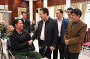 Thăm, tặng quà Trung tâm điều dưỡng thương binh Thuận Thành, Bắc Ninh
