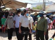Chợ dân sinh vẫn vi phạm quy định phòng, chống dịch COVID-19