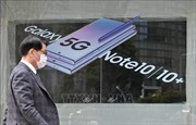 Samsung là hãng bán điện thoại thông minh 5G lớn nhất thế giới trong quý I/2020