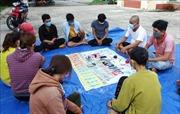 Triệt xóa tụ điểm đánh bạc quy mô lớn ở khu vực biên giới Tây Ninh