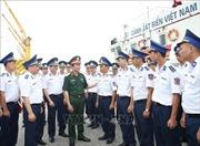 Đoàn công tác của Bộ Quốc phòng thăm và kiểm tra Bộ Tư lệnh Vùng Cảnh sát Biển 1