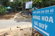 Vườn Quốc gia Ba Vì tạm dừng đón khách tham quan để chống dịch COVID-19
