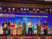 Phóng viên Tin tức đạt giải C giải báo chí về phát triển văn hóa của Hà Nội