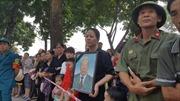 Người dân Thanh Trì, Hà Nội chờ đón linh cữu nguyên Tổng Bí thư Đỗ Mười