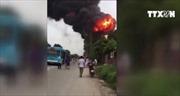 Cháy lớn trên Đại lộ Thăng Long