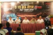 Khởi động 'Giải đua xe ô tô địa hình Việt Nam 2018'