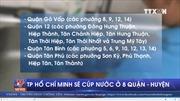 Sẽ cắt nước ở 8 quận, huyện của TP Hồ Chí Minh