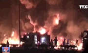 Thông tin mới nhất về vụ cháy xe bồn chở xăng tại Bình Phước