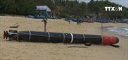Phú Yên phát hiện và đưa một quả ngư lôi trên biển vào bờ