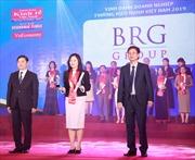 Tập đoàn BRG giành giải thưởng Thương hiệu mạnh Việt Nam 2018