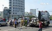 Đà Nẵng lại xảy ra tai nạn giao thông giữa xe container và xe máy