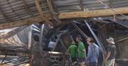 Cháy nhà máy sản xuất trấu, một công nhân bị bỏng nặng