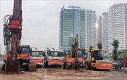 Khởi công cầu vượt hơn 500 tỷ tại nút giao đường Hoàng Quốc Việt - Nguyễn Văn Huyên