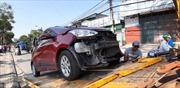 Hai ô tô va chạm trên đường Tam Trinh, một lái xe tử vong
