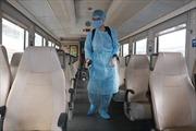 Tất cả các đoàn tàu đi, đến Ga Hà Nội đều được phun khử trùng để phòng dịch cúm do virus Corona