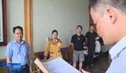 Bắt trùm giang hồ chuyên bảo kê các hoạt động đấu thầu ở Thanh Hóa