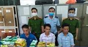 Công an Nghệ An bắt vụ vận chuyển ma túy xuyên quốc gia