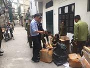 Phát hiện cơ sở cắt mác hàng Trung Quốc, gắn nhãn hiệu nổi tiếng thế giới