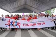 400 tình  nguyện viên chạy gây quỹ từ thiện Fun Run lần thứ 18