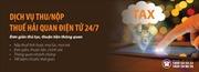 SHB triển khai dịch vụ nộp thuế hải quan điện tử 24/7
