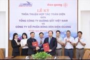 Tổng công ty đường sắt Việt Nam ký thỏa thuận hợp tác với Điện Quang