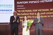 Suntory PepsiCo Việt Nam nhận giải thưởng nhân sự uy tín Châu Á