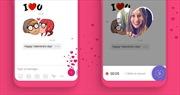 Lễ Tình nhân 14/2: Viber ra mắt tính năng video hình trái tim