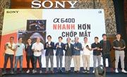 Sony Việt Nam chính thức ra mắt dòng máy ảnh không gương lật mới α6400