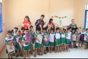 Canon bàn giao lớp học mới cho các em học sinh tại Ninh Thuận