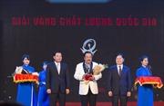 CEO Trần Quí Thanh: Giải Vàng Chất lượng quốc gia khẳng định vị thế doanh nghiệp
