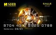 SHB ra mắt thẻ đồng thương hiệu SHB-Galle Privilede Prepaid Card với nhiều khuyến mại hấp dẫn