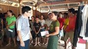Thăm hỏi, hỗ trợ người dân bản Sa Ná bị lũ lụt gây thiệt hại