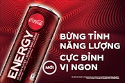 Coca-Cola ra mắt nước tăng lực Coca-Cola Energy Bừng tỉnh năng lượng, cực đỉnh vị ngon tại Việt Nam