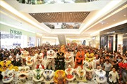 40 đội tham gia giải đấu lân sư rồng tại Crescent Mall