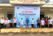 Heineken Việt Nam tiếp tục hỗ trợ công trình nước cho cộng đồng tại Lai Châu