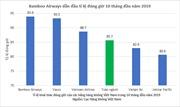Bamboo Airways bay đúng giờ nhất ngành Hàng không