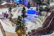 Trải nghiệm tại tổ hợp giải trí tuyết