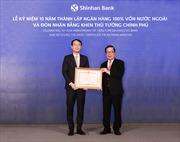 Ngân hàng Shinhan nhận bằng khen của Thủ tướng Chính phủ