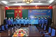 HUD trao tặng 10.000 khẩu trang y tế và 2.800 chai dung dịch rửa tay khô diệt khuẩn cho tỉnh Vĩnh Phúc