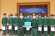 Ngân hàng Shinhan tiếp sức cho cán bộ tại các điểm cách ly tỉnh Lạng Sơn