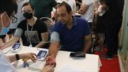 Nhân viên Shinhan Finance tham gia hiến máu cứu người